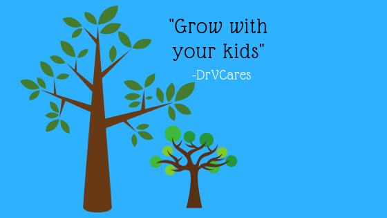 "Parenting: ""Growing with your kids"""